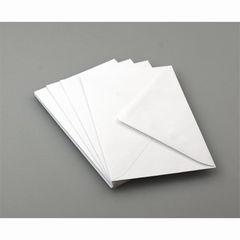Briefumschlag C6 weiß