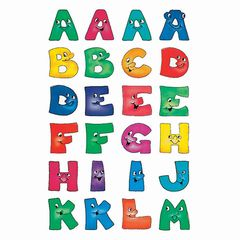 Sticker Buchstaben 20mm A-Z