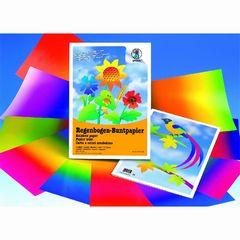 Regenbogen-Buntpapier