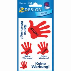 Etikett STOP KEINE WERBUNG!