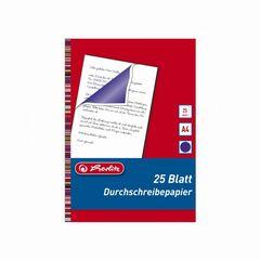 Durchschreibepapier A4 blau-violett