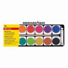Deckfarbkasten 12er, Eberhard Faber