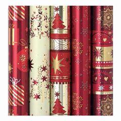 Geschenkpapier Weihnachten Platinum