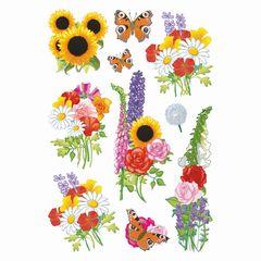 Sticker moderne Blumen