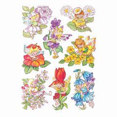 Sticker Blumenelfen