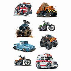Sticker Fahrzeuge