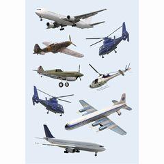 Sticker Flugzeuge