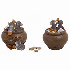 Spardose Mäuse mit Jackpot