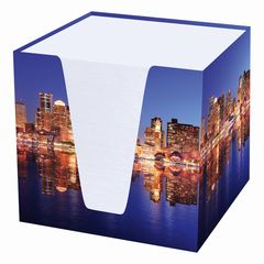 Notizwürfel Skyline 9x9x9cm