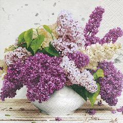 Serviette Bouquet in spring