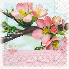 Serviette Blossom greetings