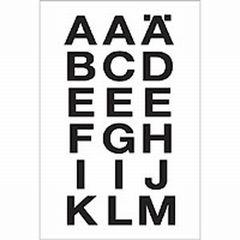 Sticker Buchstaben A-Z 20*20mm