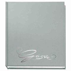 Gästebuch CLASSIC silber