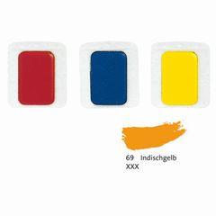 Aquarell-Ersatzfarbe indisch gelb