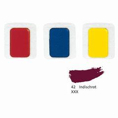 Aquarell-Ersatzfarbe indisch rot