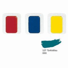 Aquarell-Ersatzfarbe türkisblau