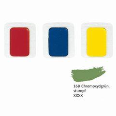 Aquarell-Ersatzfarbe chromoxidgrün