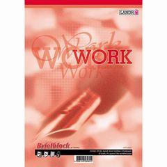 Schreibblock A4 WORK kariert