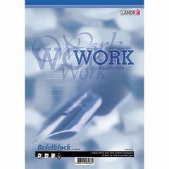 Schreibblock A4 WORK liniert