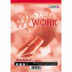 Briefblock A5 WORK kariert