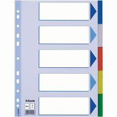 Register A4 10 Taben farbig