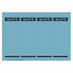 Ordernrückenschild kurz/breit blau
