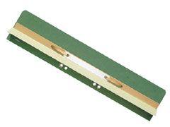 Einhängeheftrücken mit Falz grün