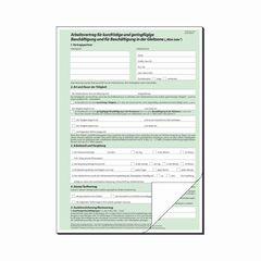 Arbeitsvertrag Teilzeit A4 2-fach