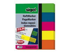 Haftmarker Film 50*60mm 5farbig