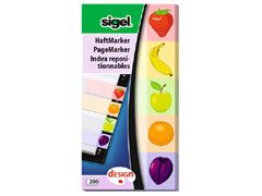 Haftmarker Design Fruits 50*100mm