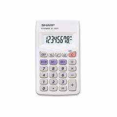 Taschenrechner EL-233 S weiß
