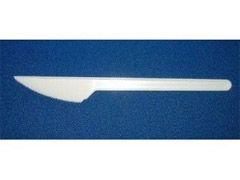 Messer Plastik, weiß