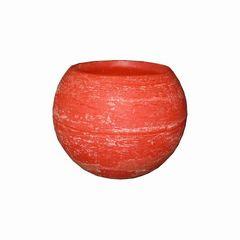 Wachswindlicht 110*150mm rot