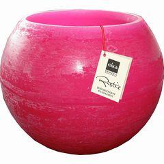 Wachswindlicht 110*150mm pink