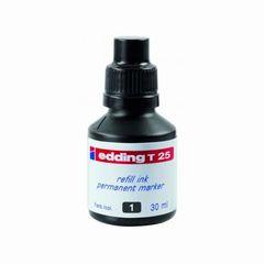 Nachfüll-Tusche edding T25 schwarz