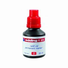 Nachfüll-Tusche edding T25 rot