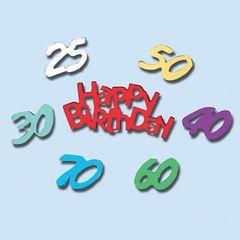 Konfetti Happy Birthday 35mm