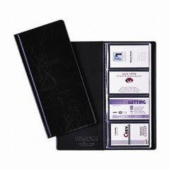 Visitenkartenbuch 115*253mm schwarz