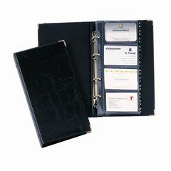 Visitenkartenbuch VISIFIX schwarz