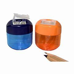 Doppelspitzer mit Auffangdose oval