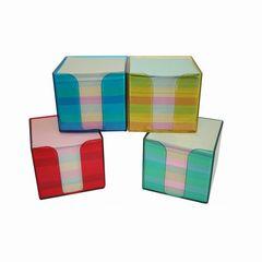 Zettelbox transparent sortiert