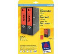 Ordnerrücken-Etikett 192*61mm A4