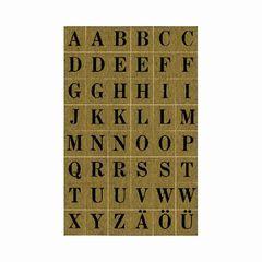 Sticker Buchstaben 76*120mm