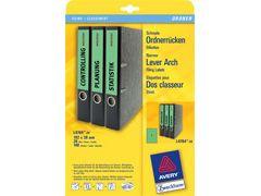 Ordnerrücken-Etikett 192*38mm A4