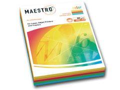 Kopierpapier A4 5 intensiv-Farben