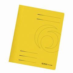 Schnellhefter A4 Karton gelb